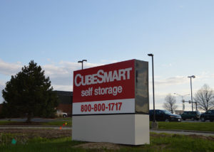Self Storage Monument Sign