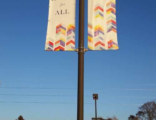St. Anthony's Flag Mounted Light Pole Banners